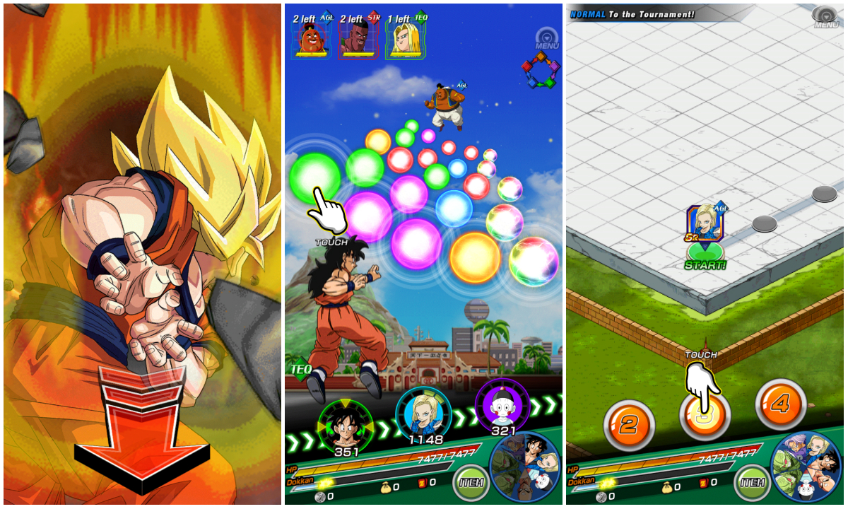dragon ball z dokkan battle italia
